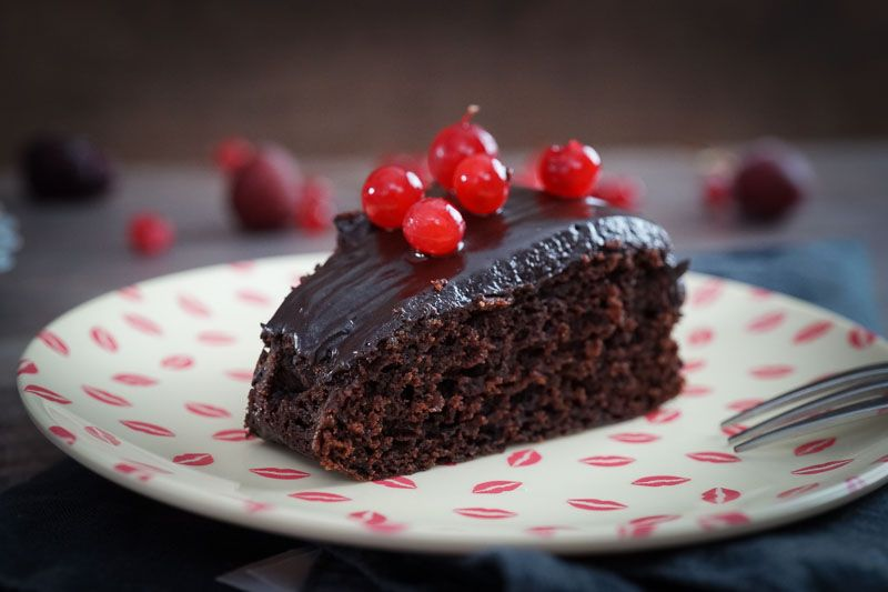 Sallys Rezepte Saftiger Schokoladenkuchen Mit Schokoladenguss