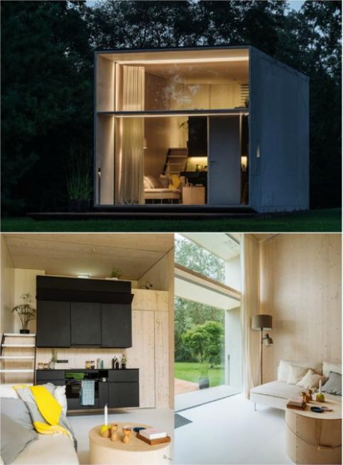 Desain Rumah Kebun : desain, rumah, kebun, Rumah, Kebun, Minimalis, Eksterior, Modern,, Desain, Mungil,, Modern