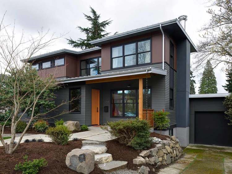 A Second Story Addition And First Floor Renovation Of A