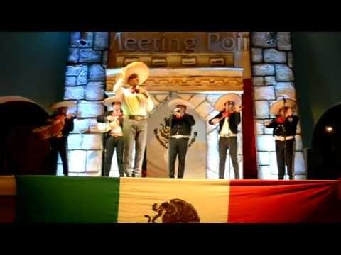 Every #Tuesday, we have #MexicanNight. Guest can enjoy live #Mariachi #Music  @Sandos Playacar Beach Experience Resort  Song: EL SON DE LA NEGRA