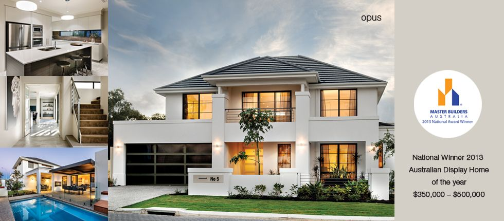 Opus Apg Homes Double Story House Storey Homes House Designs Exterior