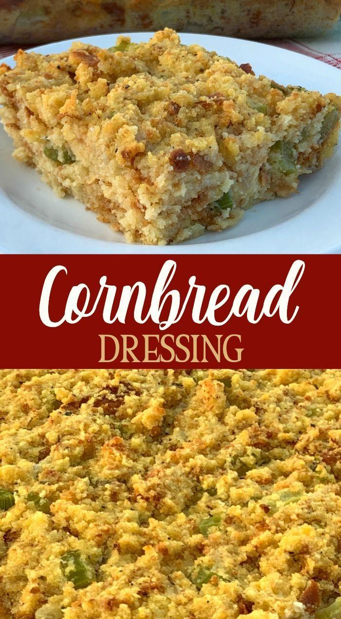 Traditional Cornbread Dressing