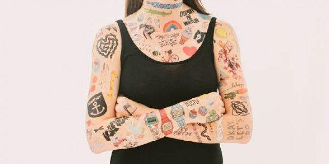 Tatuajes temporales de Diseño