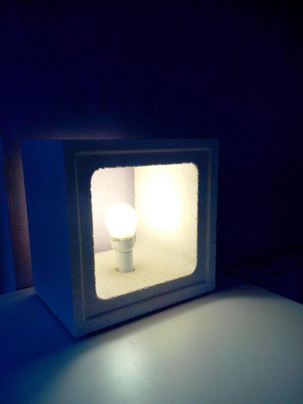 Lampe de table éco