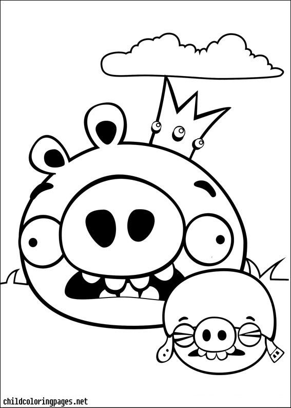 Angry Birds Coloring Pages 13 - http://www.kidscp.com/angry-birds ...