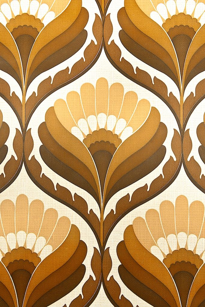 1970s vintage wallpaper retro - photo #42
