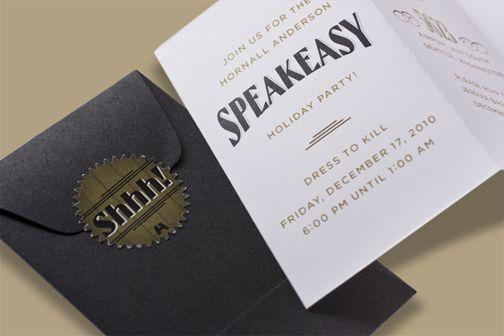 Gallery For 1920s Speakeasy Invitations Speakeasy 2015