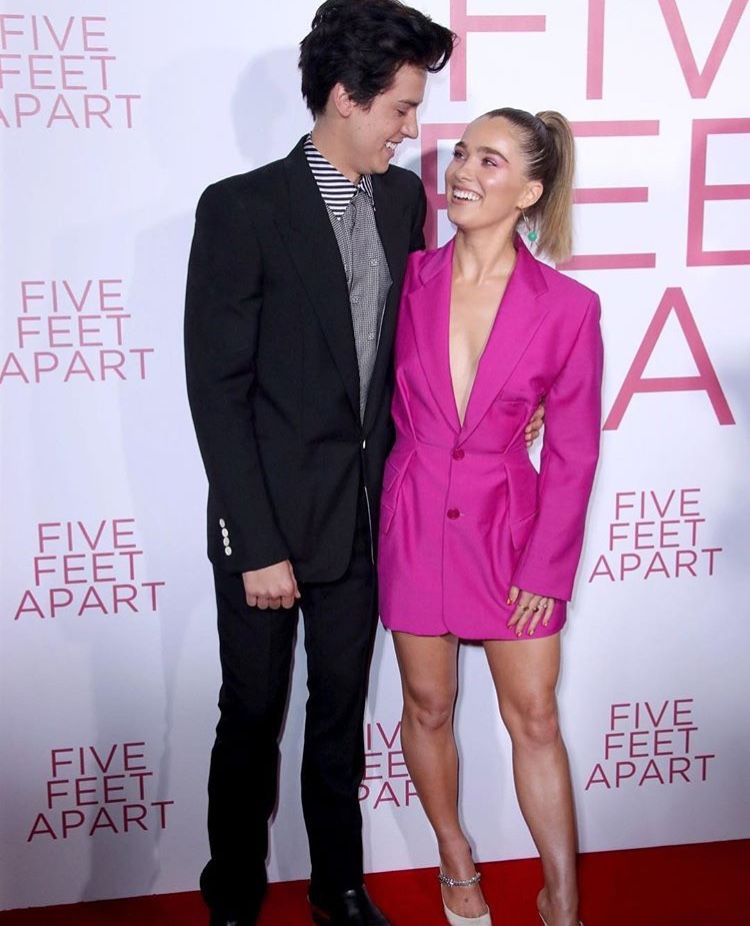 Cole And Haley At The Five Feet Apart Premiere