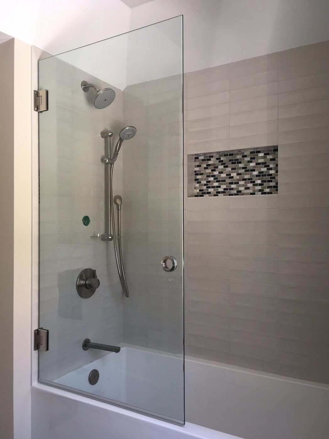 Awesome Bathroom Shower Glass Panel Sliding Shower Door Glass Shower Amazing Bathrooms