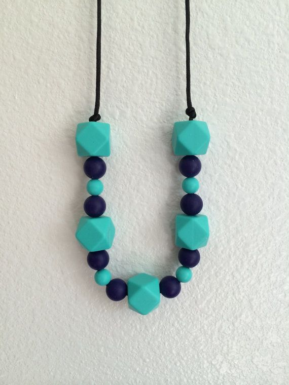 how to make teething necklace silicone