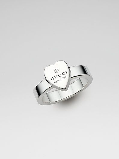 050bd401959 DESIGNER  GUCCI SEE DETAILS HERE  Sterling Silver Heart Ring ...