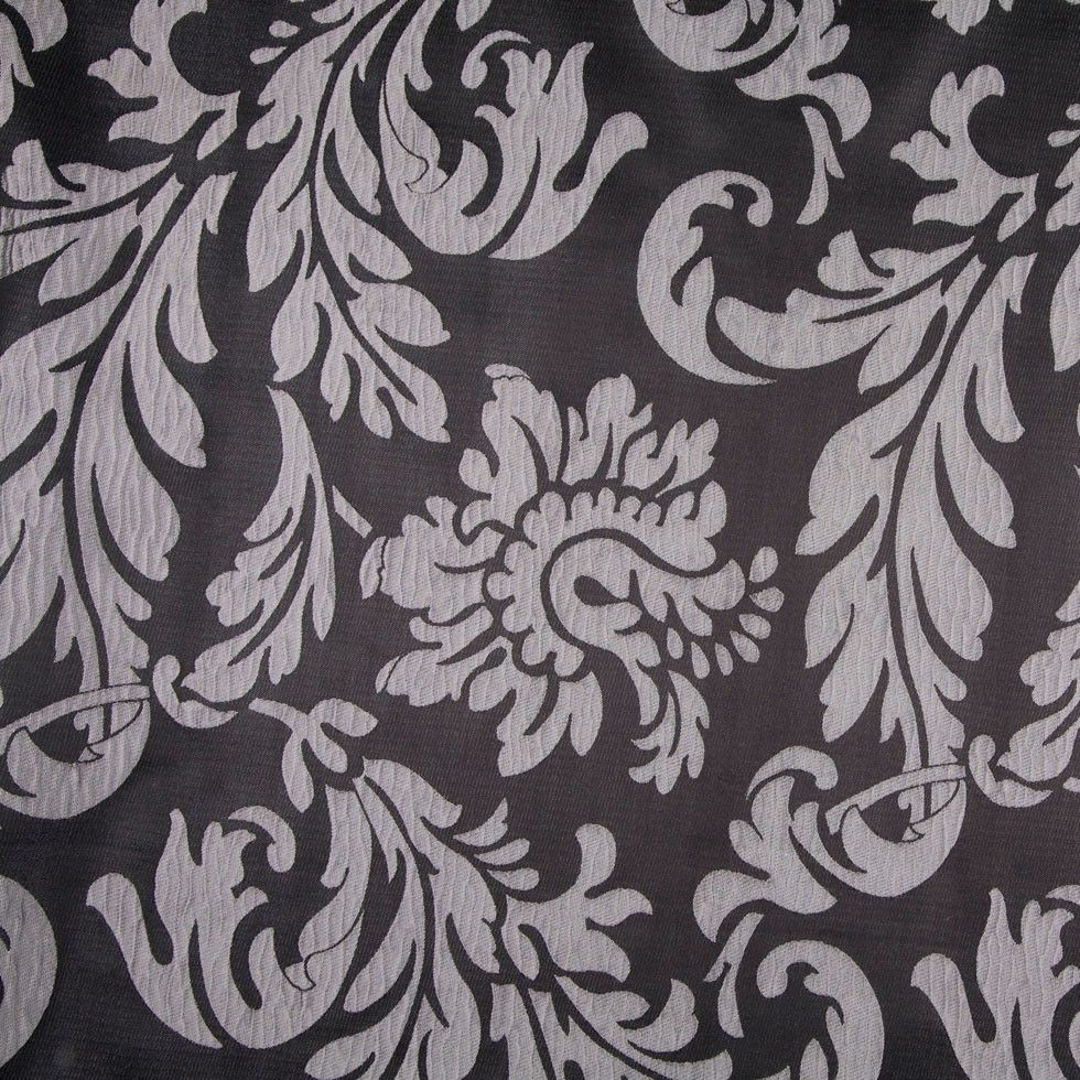 Weave medley light green fabric 6 yards contemporary drapery fabric - Black Silver Damask Brocade Home Fabrics