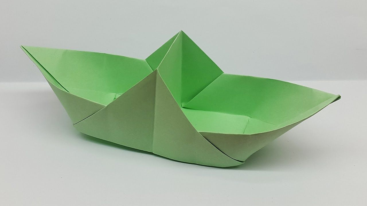 Photo of How to Make a Paper Boat (Two Part) | Origami Boat Step by Step Tutorial