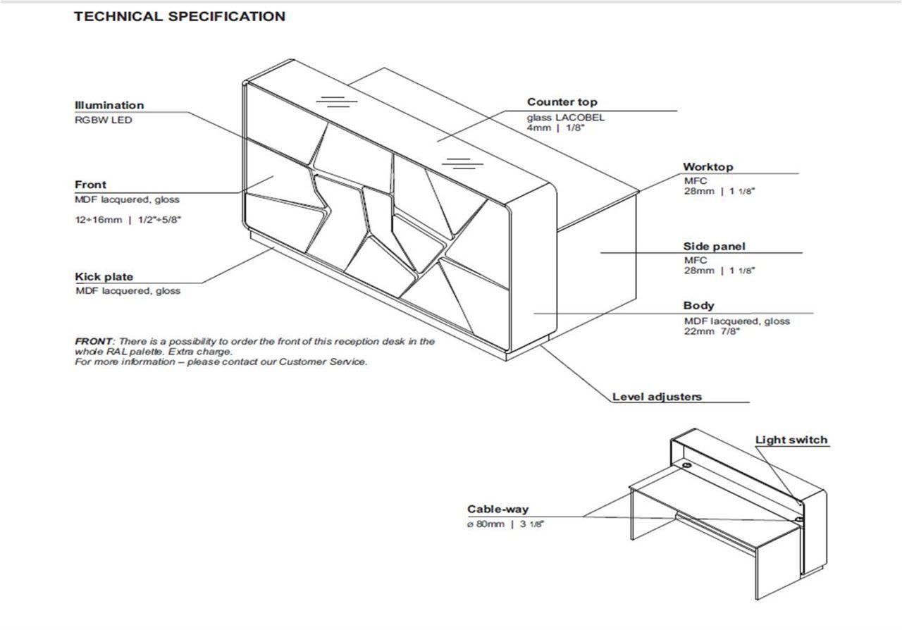 Image Result For Reception Desk Section Detail Drawing Front Desk Design Reception Desk Design Hotel Room Design Bedrooms