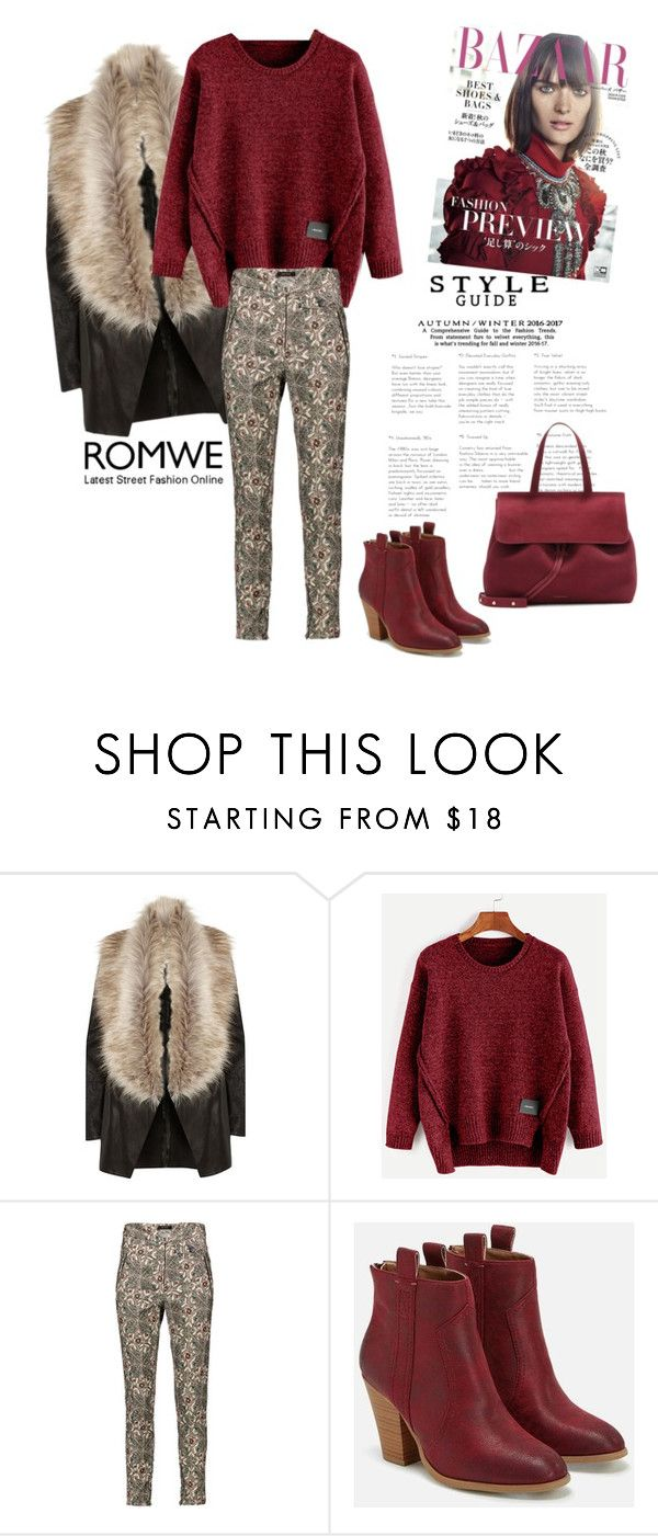 """""""romwe"""" by dina-37 ❤ liked on Polyvore featuring River Island, Isabel Marant and JustFab"""