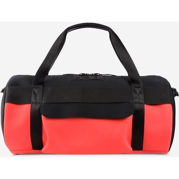 d3705fe0c2 Y-3 Day Gym Bag Ii ( 240) ❤ liked on Polyvore featuring bags ...