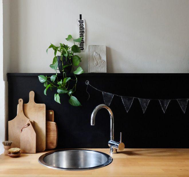 Hässliche Küche die reversible küchenrückwand kitchen stuff and kitchens
