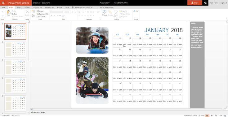 Customize a Free Calendar Template Free calendar template, Free