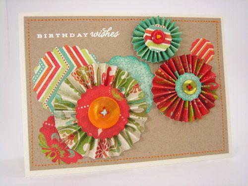 cute flower card