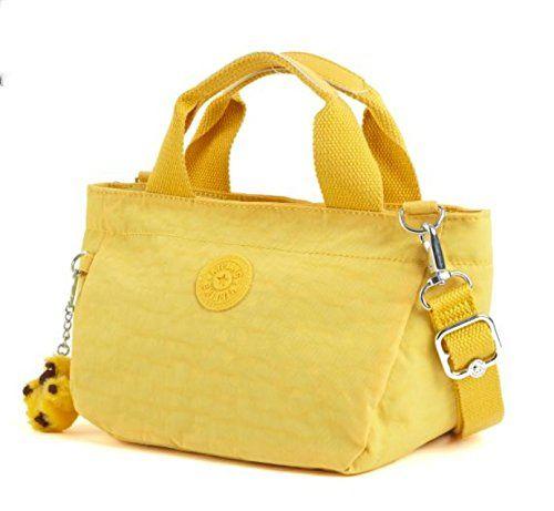 Kipling Sugar Sii Small Handbag In Canary Yellow Handbags Luxury Designer