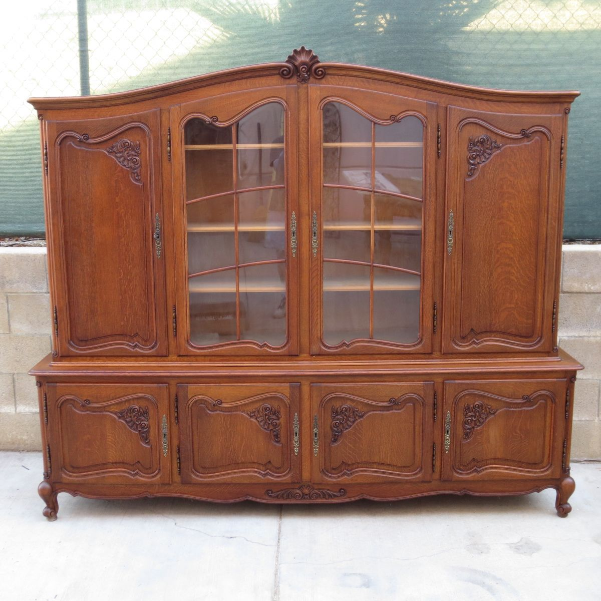 French Antique Bookcase Antique China Cabinet Antique Display ...