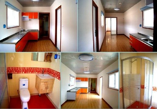inner decoration of modified shipping container house exported to ...