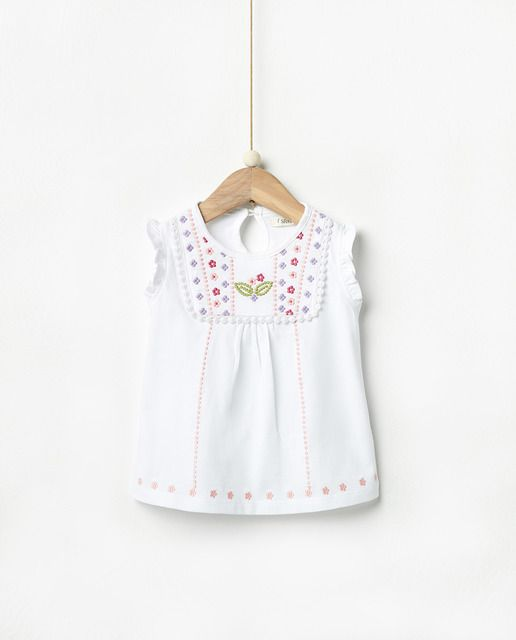 envio GRATIS a todo el mundo tan baratas fina artesanía Camiseta de bebé niña Sfera con bordado | Ropa para niñas ...