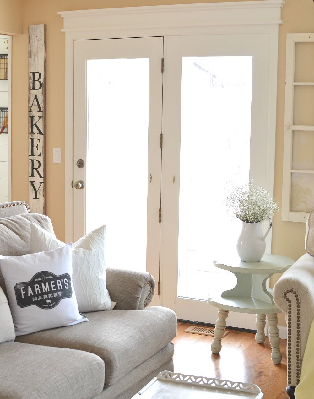 A touch of farmhouse charm book review farmhouse window