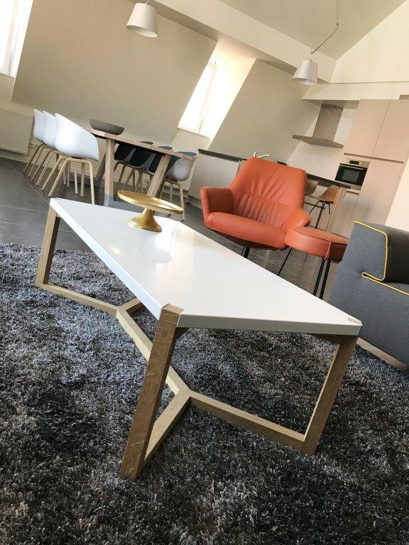 White Oak Salontafel.Design Salontafel Wit Eiken Coffee Table White Oak Home Portfolio