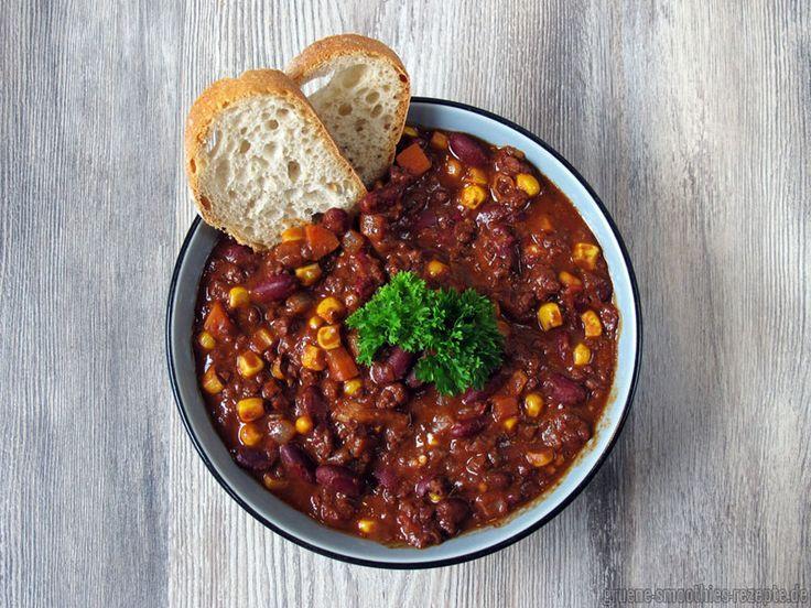 Yammie - Mein veganes Chili sin Carne hat sogar unsere omnivoren - meine vegane küche