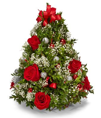 Oh Christmas Tree Bouquet At From You Flowers Christmas Tree Flowers Christmas Flower Arrangements Christmas Flowers