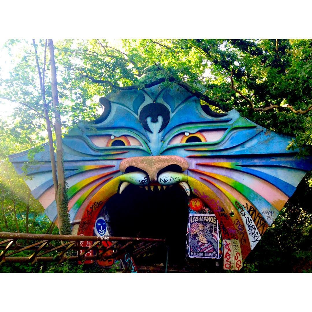 KeynevilleThe Tiger Face. Spreepark, Berlin. #abandoned