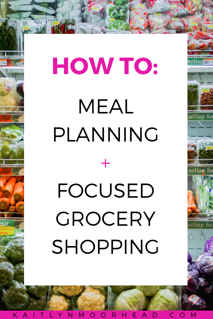 How to: Meal Planning + Focused Grocery Shopping images
