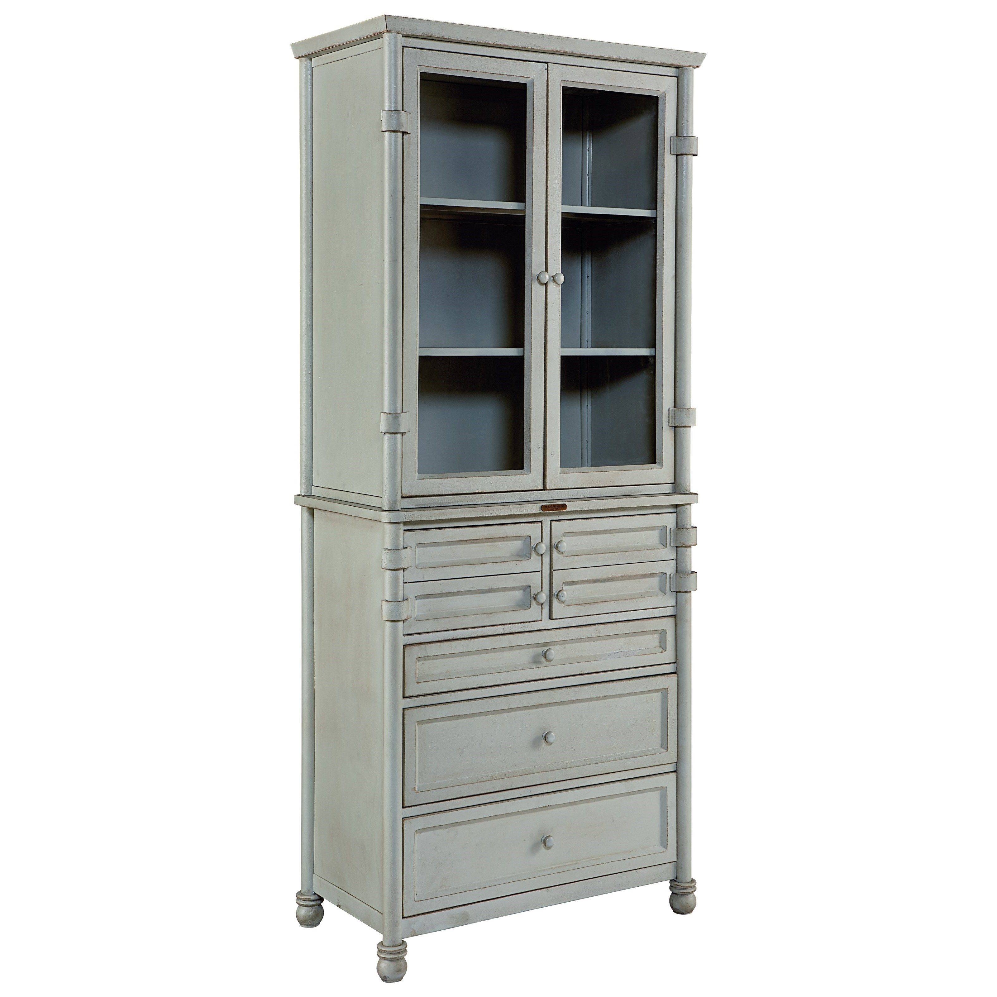 Industrial Metal Dispensary Cabinet By Magnolia Home By Joanna Gaines