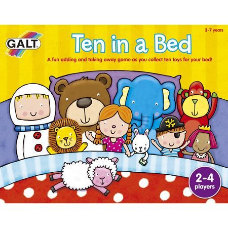 Ten In A Bed Game Childrens Board Games Board Games Toy Store