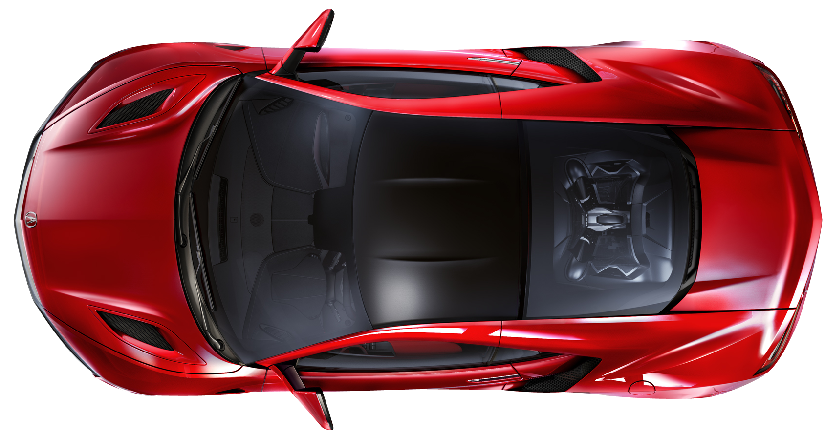 Download Car Top View Png Image For Free Nsx Acura Nsx Honda Nsx 2015