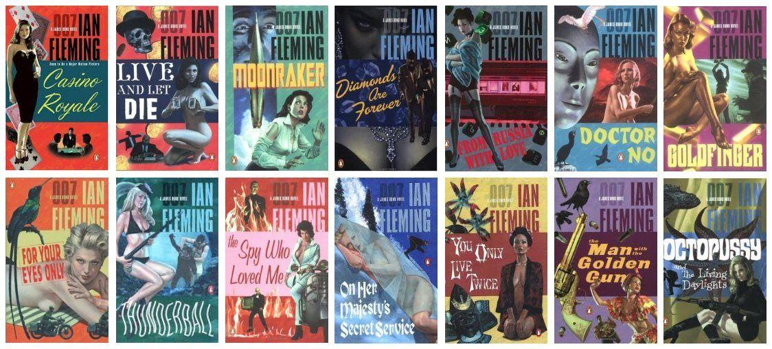 best order to read james bond books