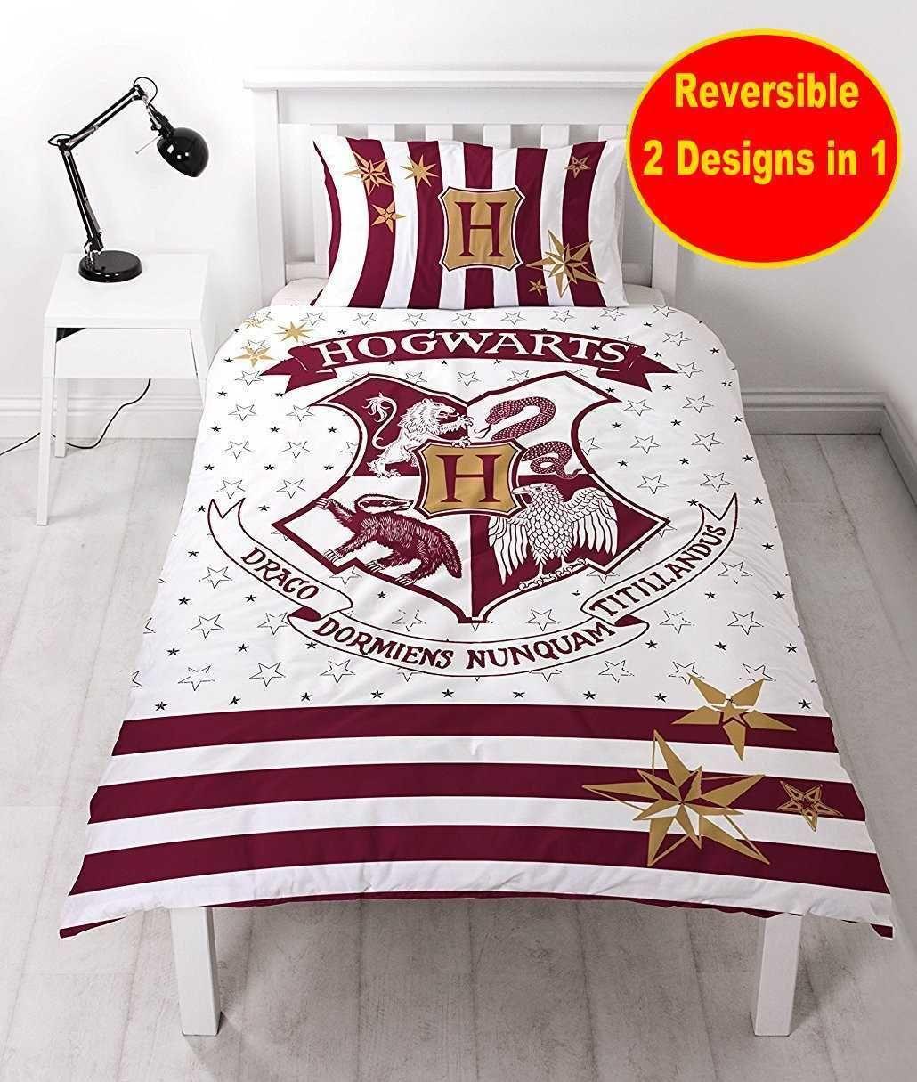 Details About Harry Potter Marauders Map Panel Single Bed Duvet