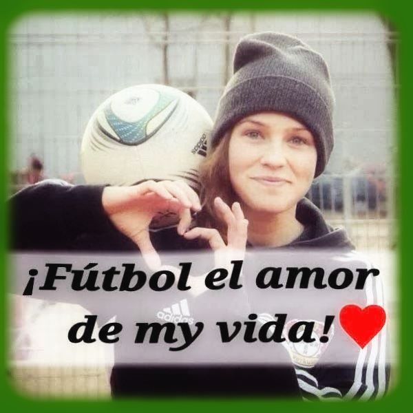 Imagenes De Futbol Con Frases Femenino Amor Futbolero Pinterest