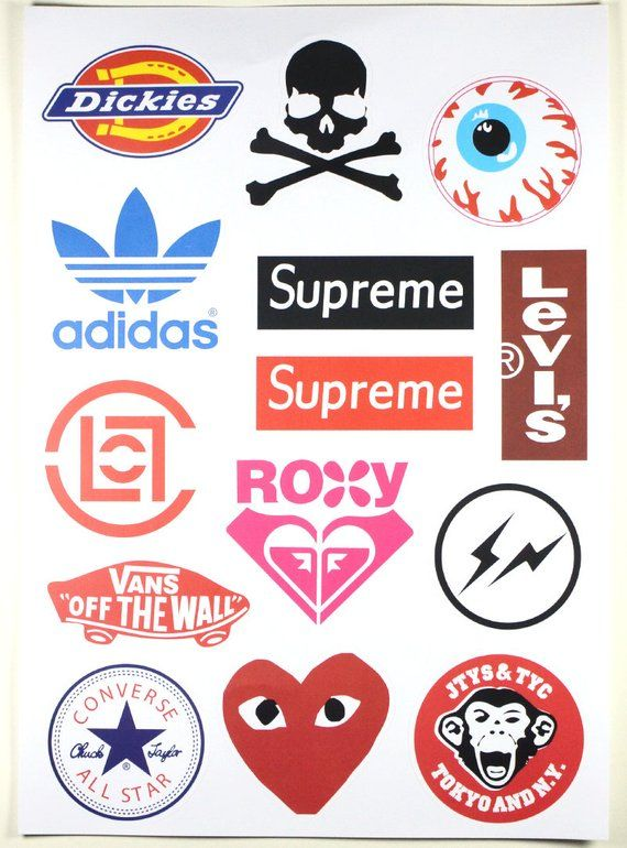 Laptop Sticker Suitcase Stickers 14pcs Skateboard