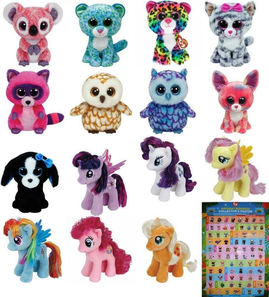 be6b7841ec5 Ty Beanie Boo 6 or Ty Sparkle 8 - Pls choose your favorite Boos Soft Toy  BNWT