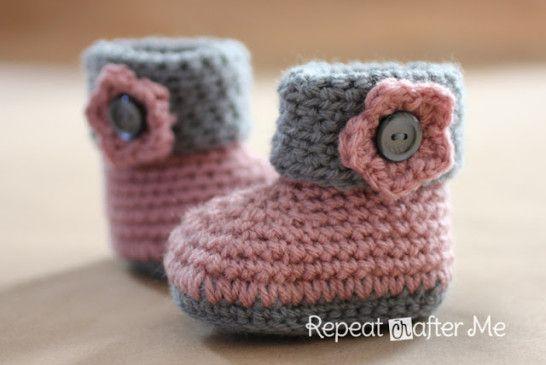 Cutest Pug Dog Crochet Pattern Ideas To Try Baby Booties Crochet