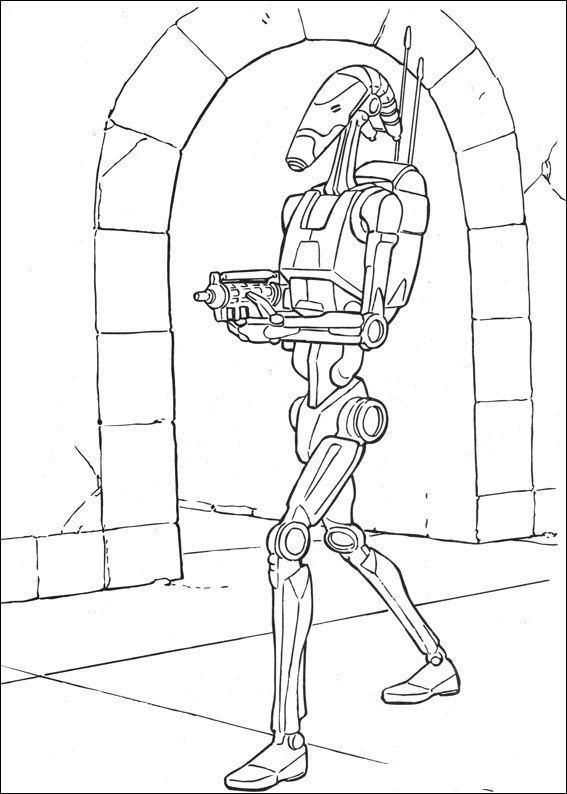 Star Wars 041 coloring page | LineArt: Star Wars | Pinterest | Star
