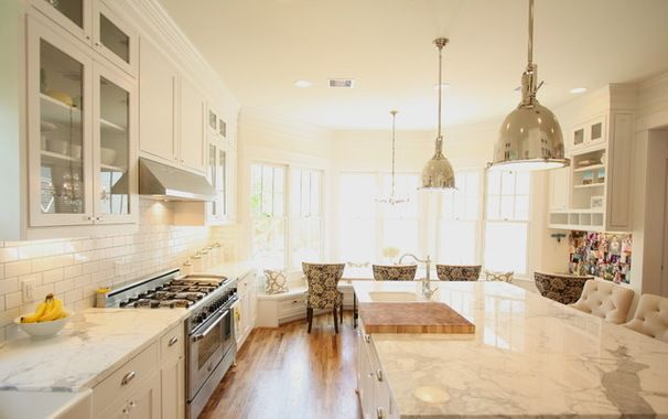 Traditional Kitchen Craftsman Rehab In Houston Heights - Craftsman home rehabilitation in houston
