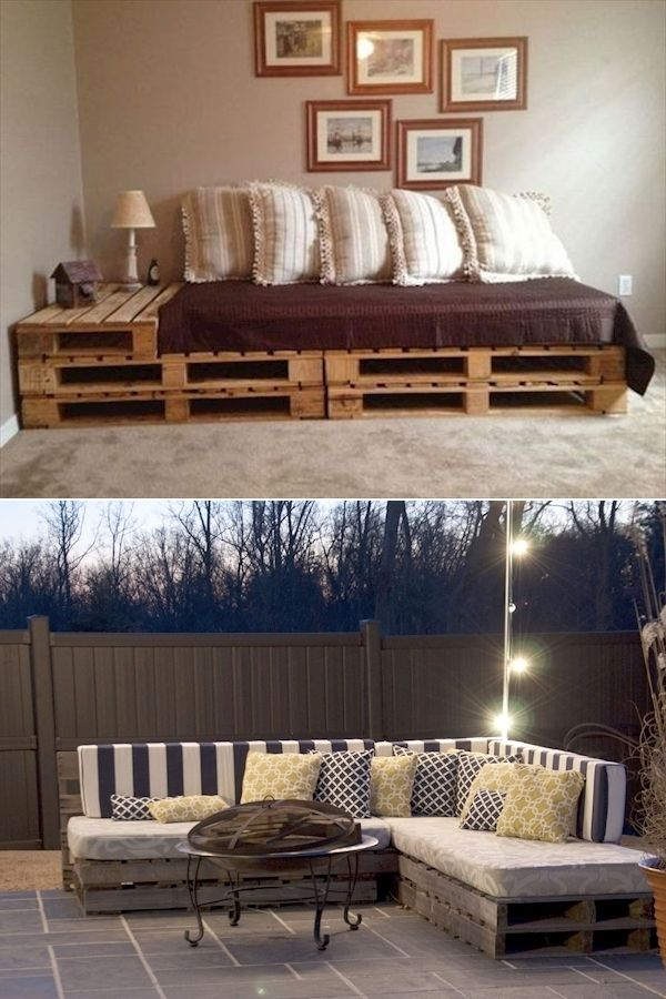 Outdoor Furniture Out Of Pallets | Recycling Pallets Into ...