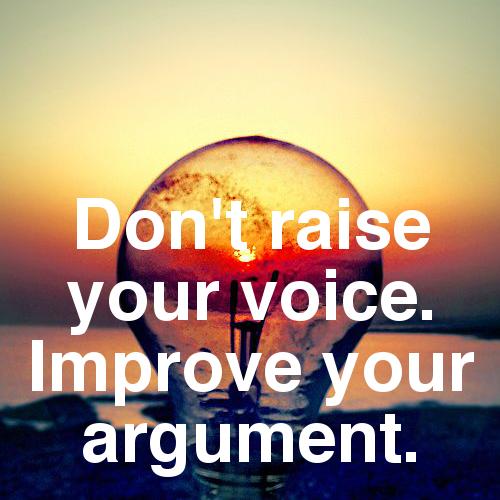 Improve Your Argument | The Byline Blog