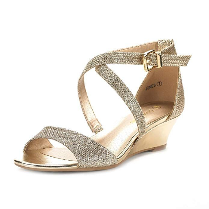 7e2ae3649b823 Amazon.com | DREAM PAIRS Women's Ankle Strap Low Wedge Sandals ...