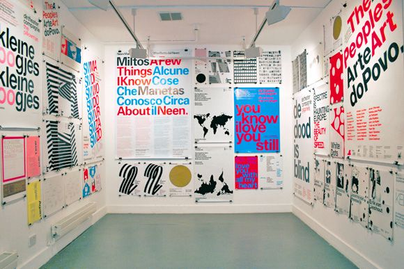 Experimental Jetset Ten Years Of Posters Kemistry Gallery London 2006 Design Exhibition Exhibition Design