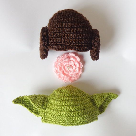 Star wars hat set princess leia and yoda by kernelcrafts on etsy star wars hat set princess leia and yoda by kernelcrafts on etsy crochet starscrochet hat patternscrocheted baby dt1010fo