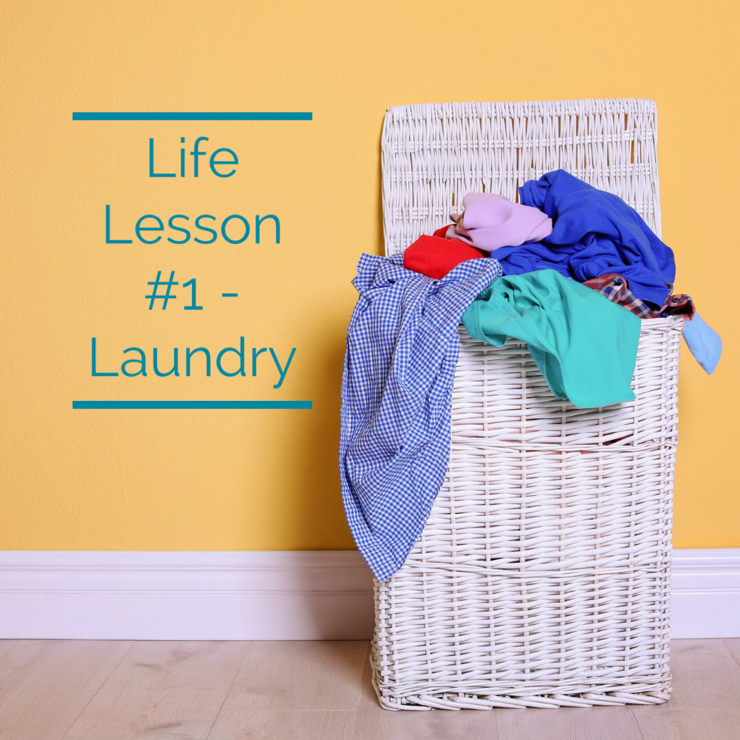 Life Lesson 1 Laundry In 2020 Life Lessons Lesson Teachable